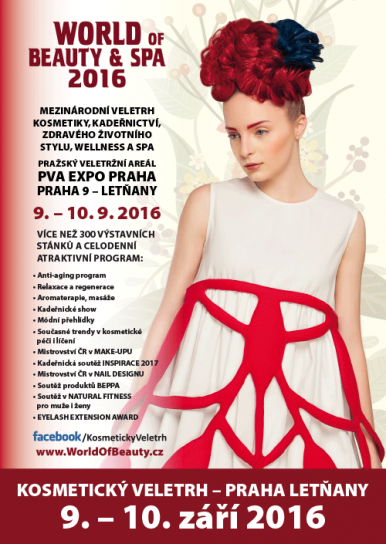 Glatte na slavné výstavě WORLD OF BEAUTY & SPA  2016